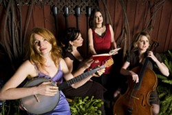CELTIC PRIDE :  Moira Smiley and VOCO play on Sept. 18 at St. Benedict's Episcopal Church. - PHOTO BY DON LEWIS