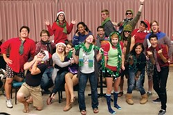 HOLIDAY FUN! :  Get into the holidays with two concerts by Take It SLO, Cal Poly's excellent a cappella ensemble, when they perform Dec. 1 and Dec. 4 at Cal Poly. - PHOTO COURTESY OF TAKE IT SLO