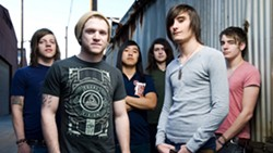 METALCORE!:  We Came as Romans brings metalcore love songs to SLO Brew on Feb. 25. - PHOTO COURTESY OF WE CAME AS ROMANS