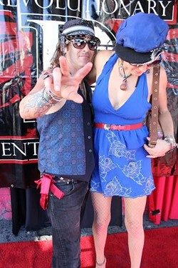 HOLLYWOOD!:  Shaufrau, a Paso-based band that is blowing up the Sunset Strip in Hollywood, makes a rare local appearance on Dec. 1 at Frog and Peach. - PHOTO COURTESY OF SHAUFRAU