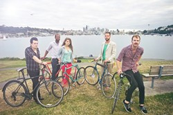 SEATLE HIPSTERS :  Seattle's folk and Americana quintet The Horde and the Harem will make a stop at Linnaea's Café on their way to SXSW on March 7. - PHOTO COURTESY OF THE HORDE AND THE HAREM