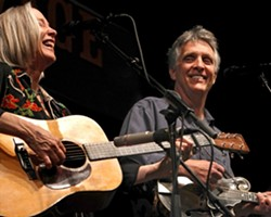 THE MUSICAL FRUIT :  There're two good reasons to come to Los Osos' Red Barn on March 3: the amazing Laurie Lewis and the Right Hands and the Second Annual Red Barn Chili Cook-Off! - PHOTO COURTESY OF LAURIE LEWIS