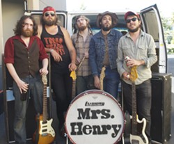 ROCK ON:  San Diego rockers Mrs. Henry will play Frog and Peach on July 27 and July 28. - PHOTO COURTESY OF MRS. HENRY