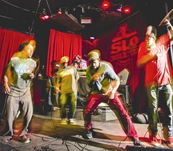 HEROES OF LEGEND:  The Pharcyde drops it again for Dilla. - PHOTO BY HENRY BRUINGTON