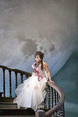 """LUNCH WITH DONIZETTI :  Donizetti's Don Pasquale comes to the Performing Arts Center via simulcast in November. SLO Opera director Sharon Dobson said """"the Met was really happy"""" to have the simulcasts on a college campus, recognizing that future audiences rely on a younger generation turning on to opera. - PHOTO COURTESY OF CAL POLY ARTS"""