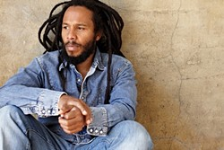 ZIGGY LIVE!:  Ziggy Marley plays the Fremont Theater on Nov. 10 to promote his new album Fly Rasta. - PHOTO COURTESY OF ZIGGY MARLEY