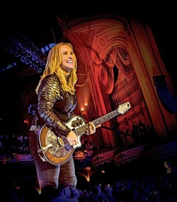 THE ONLY ONE:  The one and only Melissa Etheridge plays the PAC-SLO on Nov. 16, delivering both hits and songs from her new album 'This is M.E.' - PHOTO BY DEBI DEL GRANDE