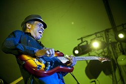 BORN FOR THE BLUES:  The SLO Blues Society presents acclaimed guitarist James Armstrong on Sept. 21 at the SLO Vets Hall. - PHOTO COURTESY OF JAMES ARMSTRONG