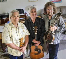 BLUEGRASSERS :  The Hay Dudes bring their killer bluegrass to Shine Café on Aug. 8. - PHOTO COURTESY OF THE HAY DUDES
