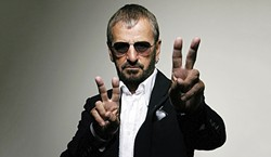 PEACE & LOVE :  Ringo Starr and his All Starr Band play Oct. 2 at Vina Robles Amphitheatre. - PHOTO COURTESY OF RINGO STARR