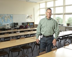 EDUCATION IS A-CHANGIN':  San Luis Coastal Unified School District Superintendent Eric Prater is overseeing changes to his administrative staff in the wake of changes to statewide educational standards. - PHOTO BY STEVE E. MILLER