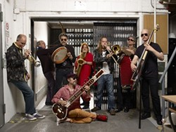 NEW YORK COOL:  TriBeCaStan will bring jazzy world music sounds to Steynberg Gallery on Nov. 12. - PHOTO COURTESY OF TRIBECASTAN