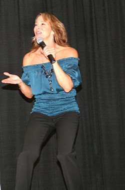STAR POWER :  Comedianne/producer Lizette Mizelle will light up the room for a good cause. - PHOTO BY JENI BLUE