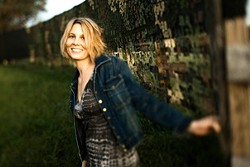 SONG BIRD :  Inga Swearingen takes flight on her new CD First Rain, which she'll present in concert on Oct. 25 at the Clark Center. - PHOTO BY BARRY GOYETTE