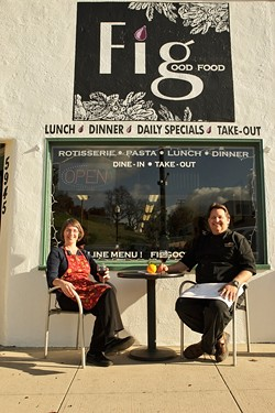 EXPERTS :  Chris Dillow and Greg Perello have been wowing crowds at their new North County restaurant. - PHOTO BY STEVE E. MILLER
