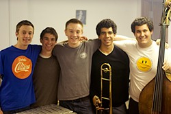 THE KIDS ARE ALRIGHT :  Opaque, an ensemble of young student musicians from the famous Oberlin Conservatory, play July 13 at The Clubhouse at This Old House. - PHOTO COURTESY OF OPAGUE