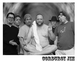INNER PIECE?:  Americana jam band Corduroy Jim brings their tongue-in-cheeks show to Frog and Peach on May 8. - PHOTO COURTESY OF CORDUROY JIM