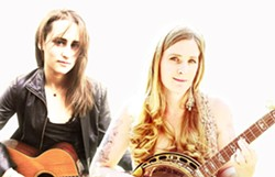 TWO ON THE TOWN:  Singer-songwriters Ray Duncan and Erin Inglish share the bill for Folk Troubadours, the inaugural show of a new series, starting Oct. 4, at the Steynberg Gallery. - PHOTO COURTESY OF RAY DUNCAN AND ERIN INGLISH