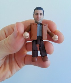 CUSTOM MINIMATE AT THATSMYFACE.COM: - PHOTO COURTESY OF THATSMYFACE.COM