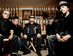 NOT JUST ANOTHER BAND FROM EAST L.A. :  Incredible Latin rock act Los Lobos headlines a massive outdoor concert at Blacklake Golf Resort on May 6, which also features the original line-up of seminal '80s L.A. punk act X, as well as Mariachi el Bronx. - PHOTO COURTESY OF LOS LOBOS