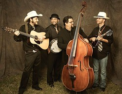 BLUEGRASS RUMBLE:  The Parkfield Bluegrass Festival with Snap Jackson (pictured) and 14 other performers happens May 7 through 10. - PHOTO BY MIKE MELNYK PHOTOGRAPHY