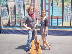 ALL IN THE FAMILY :  Father-daughter duo Deep Fried Bubblegum brings southern country and blues roots sound to Linnaea's Café on Sept. 9. - PHOTO COURTESY OF DEEP FRIED BUBBLEGUN