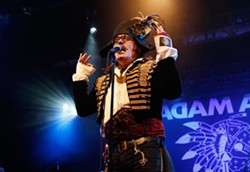 PRINCE CHARMING IS BACK:  Swashbuckling pop icon Adam Ant blazes into SLO Brew on Sept. 18. - PHOTO COURTESY OF ADAM ANT