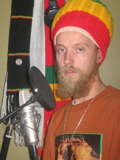 WOMB WITH A VIEW:  Jah Womb, a socially conscious reggae chanter, is one member of the Manifest Crew, a Rasta collective appearing May 30 at Frog and Peach. - PHOTO COURTESY OF JAH WOMB