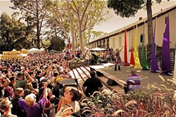 SEEING RAINBOWS :  The Pride finale event at the Mission draws thousands of visitors. - PHOTO COURTESY OF CENTRAL COAST GALA