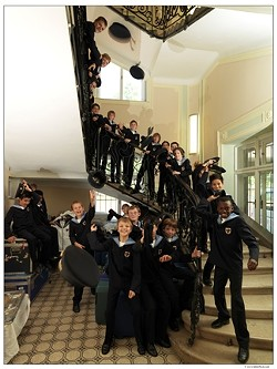 KIDS SING THE DARNDEST THINGS :  On Feb. 8 in the Performing Arts Center's Cohan Center, prepare to hear the stirring sounds and soaring voices of The Vienna Boys Choir in an evening of classical and contemporary music. - PHOTO COURTESY OF THE VIENNA BOYS CHOIR