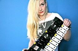 SHE CAN SING, TOO:  'Walking Dead' actress and musician Emily Kinney plays a Good Medicine Presents show at SLO Brew on June 18. - PHOTO COURTESY OF EMILY KINNEY