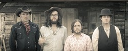 AMERICANA HEROES:  El Paso-based Dirty River Boys bring their killer sounds to SLO Brew on Aug. 21. - PHOTO BY MARSHALL FOSTER