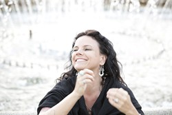 GO WEST!:  Corinne West returns to Música Del Río House Concerts on April 11. - PHOTO COURTESY OF CORINNE WEST