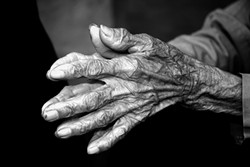 HANDS : - PHOTO BY VINCENT SHAY