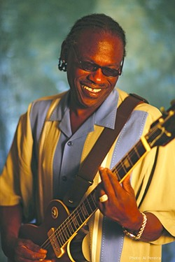 BLUES ICON :  The great blues guitarist Joe Lewis Walker plays the SLO Vets Hall on April 9. - PHOTO COURTESY OF JOE LEWIS WALKER