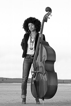 ESPERANZA SPALDING :  Oct. 8, 8 p.m. Spanos Theatre. $36 adults, $29 students. Info: esperanzaspalding.com. - PHOTO COURTESY OF CAL POLY ARTS