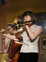 NYC vocalist and trombonist Elizabeth! Plays the Inn at Morro Bay with the Mike Raynor Group on Oct. 17 - PHOTO COURTESY OF ELIZABETH!