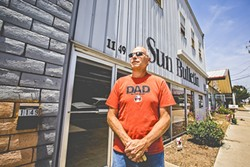SEE YOU IN COURT:  Though Rick Holliday (pictured) no longer holds a stake in the former Sun Bulletin building in Morro Bay, he sued the city, alleging his civil rights were impeded when officials prevented him and his partners from pursuing an application. - PHOTO BY HENRY BRUINGTON