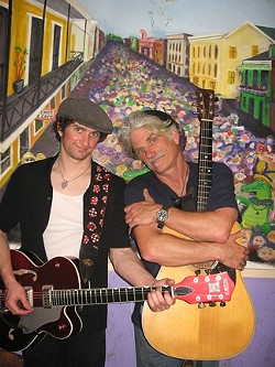 IT'S A FAMILY AFFAIR :  Sizzling roots guitarists Billy and Charlie Foppiano perform as Meet the Foppers on Wednesday, Dec. 23 at Bon Temps Creole Café in San Luis Obispo. - PHOTO COURTESY OF BILLY FOPPIANO