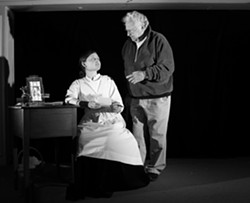 DICKINSON, EMILY DICKINSON :  Two years ago Nehemiah Persoff came out of retirement to help Emma Duncan polish her performance of The Belle of Amherst. - FILE PHOTO