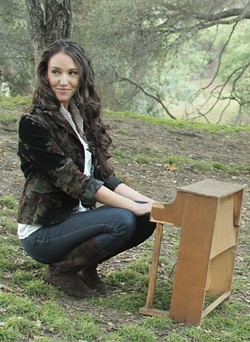 TICKLE THE IVORIES:  Paso Robles Brewery will host a performance by Los Angeles singer-songwriter Shani Rose on Nov. 17. - PHOTO COURTESY OF SHANI ROSE