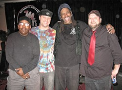 GROOVE MASTERS :  The Fuel Dock in Morro Bay presents Shival Experience, with reggae, rock, funk, blues, and soul on Dec. 31. - PHOTO COURTESY OF SHIVAL