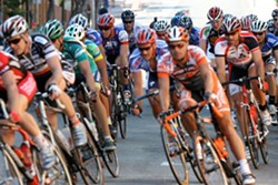 PEDAL POWERED :  The SLO Criterium returns to downtown July 20, with a bike festival for all ages, and a weekend's worth of fun. - PHOTO COURTESY OF…