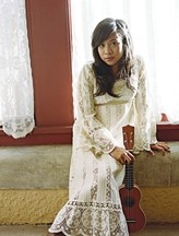 SHE'S HUGE IN BORNEO! :  Malaysian superstar Zee Avi, whose new album is on Jack Johnson's Brushfire Records, appears on Aug. 25 at Mother's Tavern. - PHOTO COURTESY OF ZEE AVI