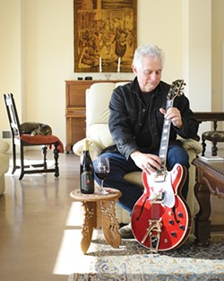 FINE TUNING :  Renowned musician Denis Degher's pinot noir has soul - PHOTO BY STEVE E. MILLER
