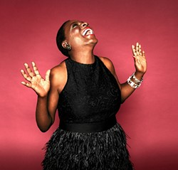 SHIMMY SHAKE! :  Sharon Jones & the Dap-Kings will bring their high-energy soul, R&B, and funk sounds to the Performing Arts Center on Oct. 29. - PHOTO COURTESY OF SHARON JONES