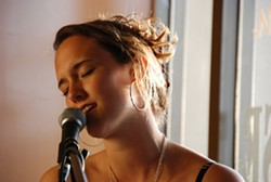 SHE'LL SING HER HEART OUT :  Amanda Holmes (pictured) and Shani Shousterman play Linnaea's Café on May 22. - PHOTO COURTESY OF AMANDA HOLMES