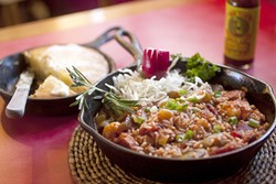 GREAT GUMBO!:  You'll find Bon Temps Creole Café at the Ramada Hotel on 1000 Olive St. in SLO, and you can call 544-2100 for reservations or information. Or e-mail Lang at bontempsphil@yahoo.com. - PHOTO BY STEVE E. MILLER