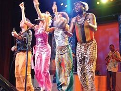 AFRO-CELT! :  Baka Beyond, an African-rhythm-Celtic-soul act plays July 19 at Castoro Cellars. - PHOTO COURTESY OF BAKA BEYOND