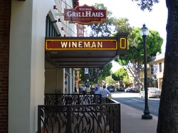 SCHNITZEL THIS :  Wineman Grillhaus offers a mix of traditional German and American foods. - PHOTO BY ADRIANA CATANZARITE
